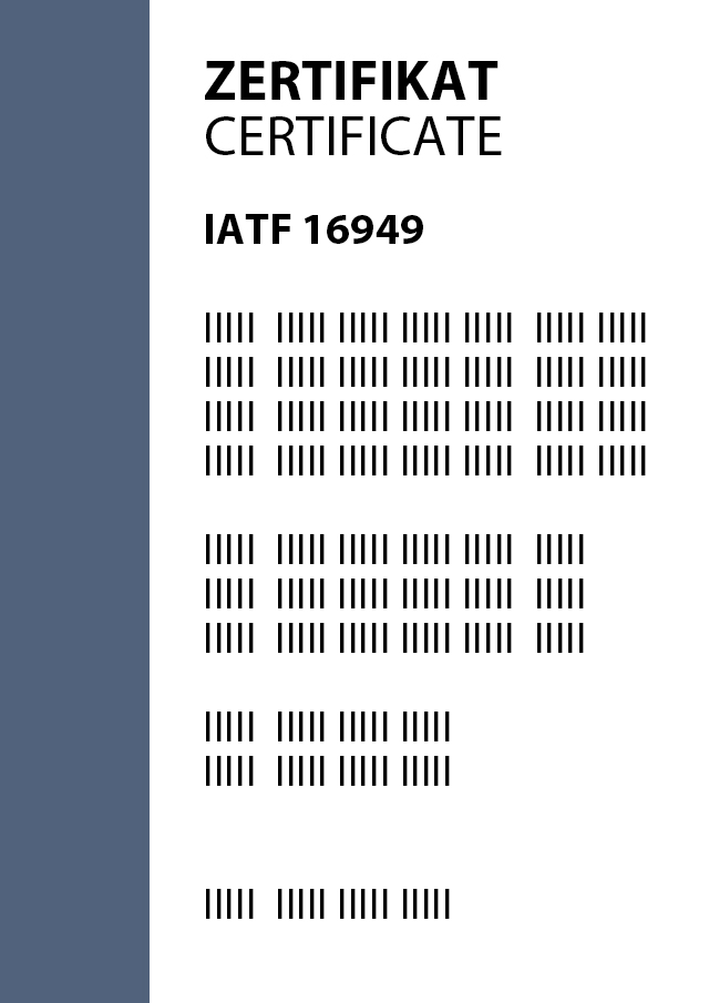 <p><br/></p><p><strong>IATF 16949:2016</strong><br/></p>